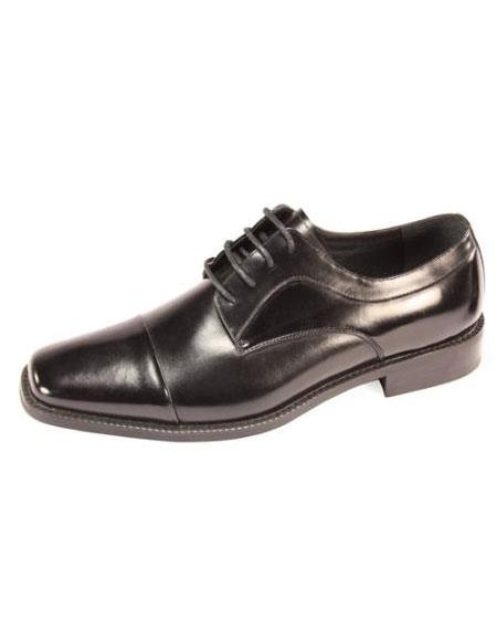 SKU#DZ5162 Mens Luxury Shoes in Black & Brown