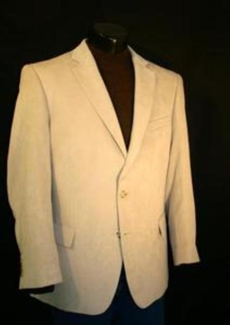 SKU#SAG232 Sage Big Size Microfiber Sportcoat $139