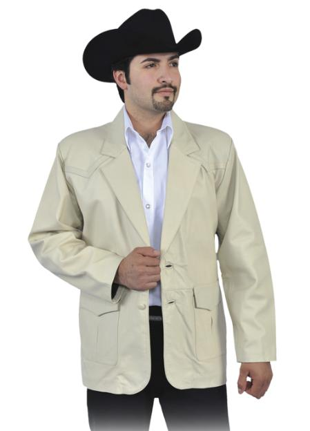 SKU#KMN133 Genuine Lamb Skin Blazer Jacket Cream ~ Ivory ~ Off White $249