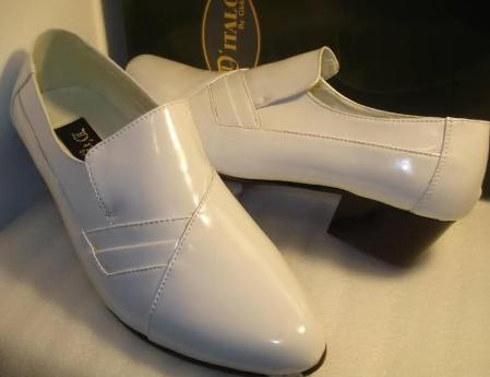 SKU#WTE7221 White Dress & Comfort Shoes $99