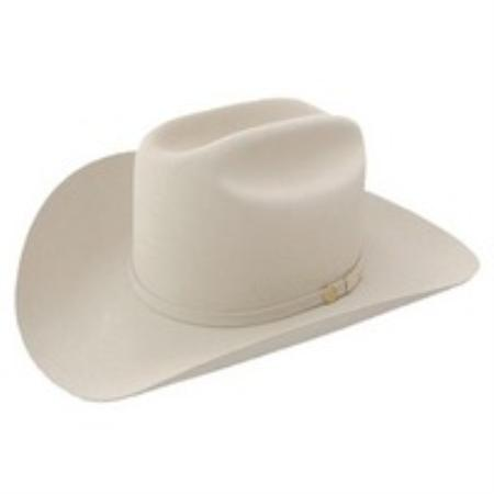 SKU#SBE8924 Genuine Beaver Fur 100X Felt Hat Silverbelly $699