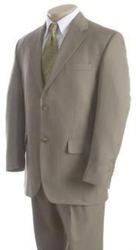 "SKU#IED476 Mens Solid Light Green greenish color with some hint of Gray ""sage"" 2 Button Sup$139"