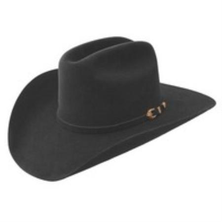 SKU#LAB7924 Stetson 10X Felt Hat Black $374