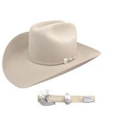 SKU#SIB7922 Stetson 4X Felt Hat Silverbelly $169