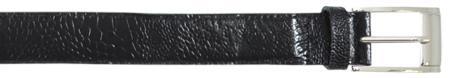 SKU#KLP9191 Black All-Over Genuine Ostrich Belt $89