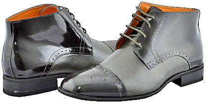 SKU#GRY9924 All New Giorgio Venturi Gray Mens Boots $99