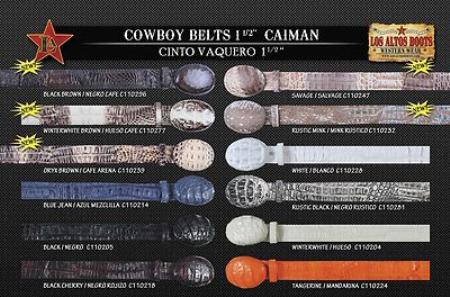 Leather Western Belts