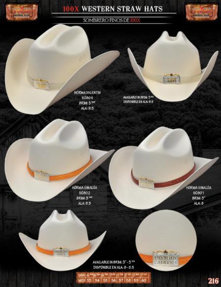 SKU#BNS8021 100x Norma Style Western Cowboy Straw Hats $52