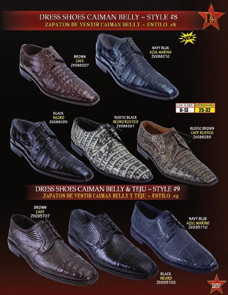 Mens Genuine caiman ~