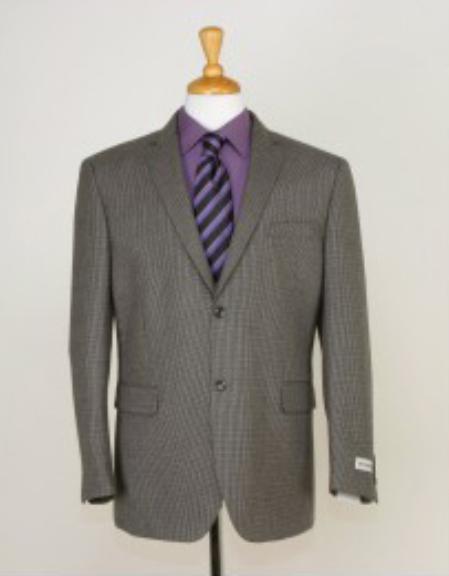 SKU#NH9473 Mens Two button Slim Fit Sport Jacket Beige $139