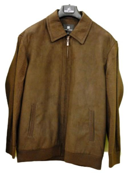 MensUSA Mens Corduroy JD Jacket Brown and Black at Sears.com