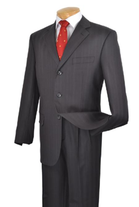 cheap suits, 100% Super Wool. Single breasted 3 buttons. Pleated pants. Fancy stripe., 1 Super Wool Single breasted 3 btn pleated pants fancy stripe & pattern Black