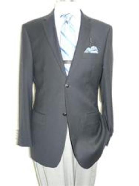 SKU#2BV-J40912C Blazer Navy Blue Cashmere Wool by Giorgio Cosani $139