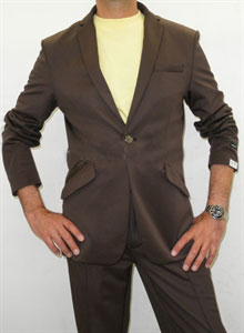SKU#ZR2496 Effetti Sport The Jogging Suit Suit in Brown  $175