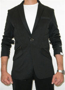 SKU#PP5578 Effetti Sport The Jogging Suit Suit in Black $175