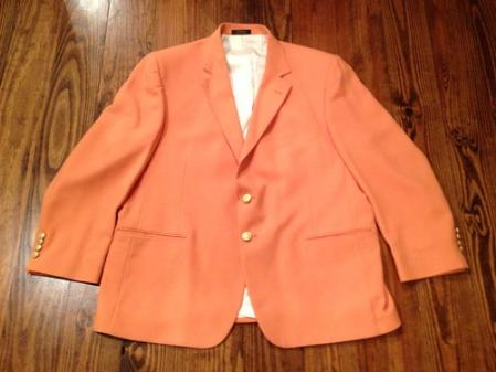 SKU#ORG9131 Mens Orange Blazer $189