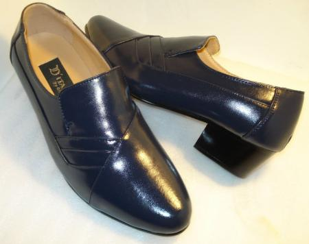 SKU#LZX23 DITALO Mens Shoes Navy Color Cuban Heel $99