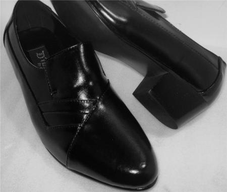 SKU#VXF13 DITALO Mens Shoes Black