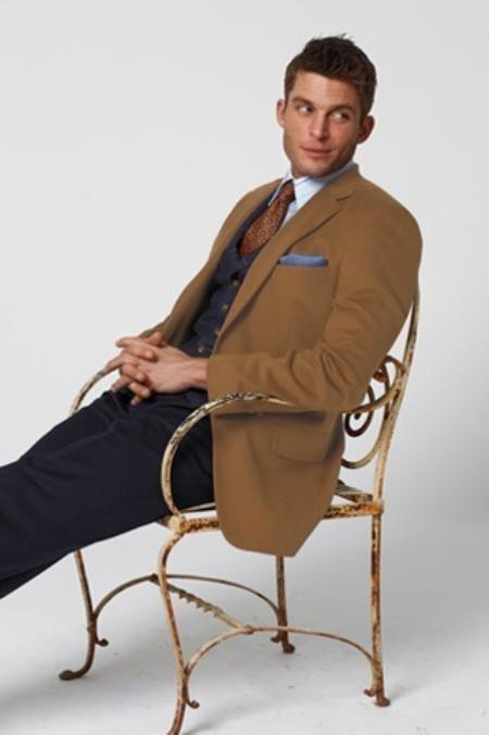 SKU#CH61 Camel Hair Sport Coat $219