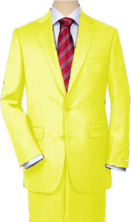 SKU#WQ33 Yellow Quality Total Comfort Suit Separate Any Size Jacket & Any Size Pants $189