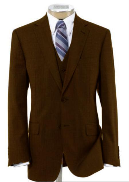 2 Button Wool Vested