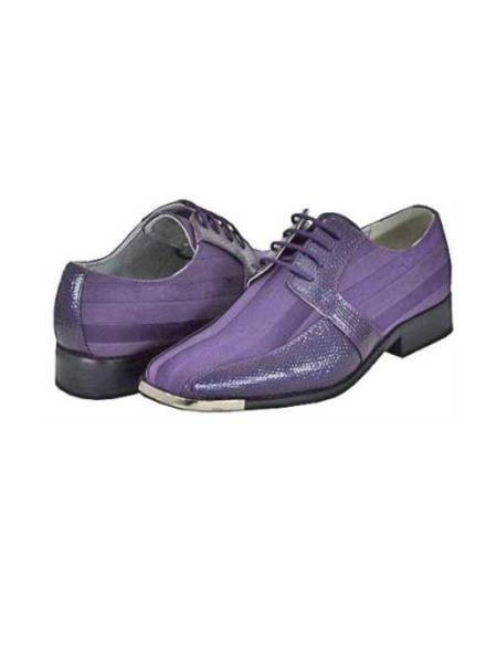 SKU#WVR94 Purple Mens Dress Shoes $125
