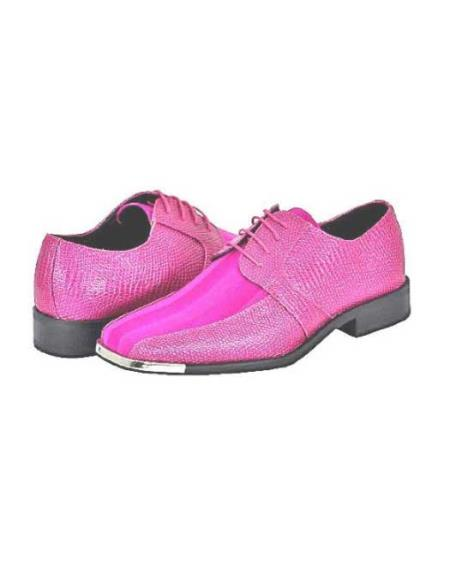 SKU#FCH91 Fuchsia Mens Dress Shoes $125