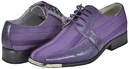 SKU#PRP82 All New Purple Mens Dress Shoes $125