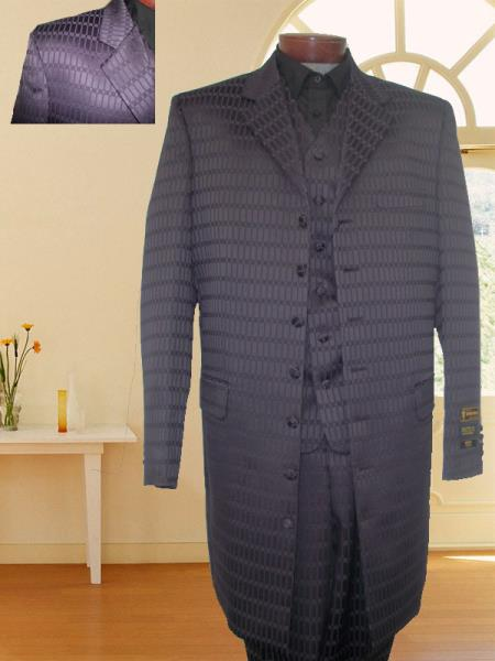 SKU#PRL33 First Quality New Zoot Suit Purple $149