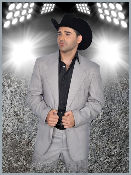 SKU#SLV99 Mens Western Suit Light Silver $239