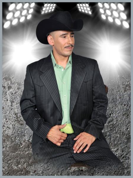 SKU#QFN22 Mens Western Suit Black/Pistachio $239