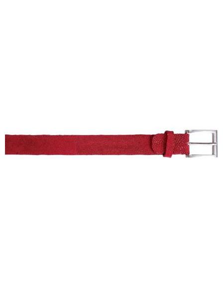 All-Over Genuine Stingray Belt