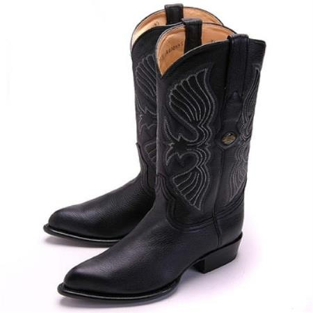 Elk J-Toe Boot