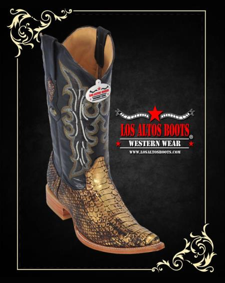 MensUSA.com Toe Python Western Mens Cowboy Boots by Los Altos(Exchange only policy) at Sears.com