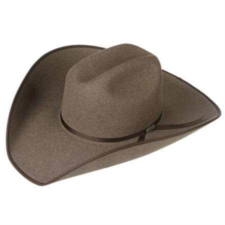 Felt Cowboy Hats Grey