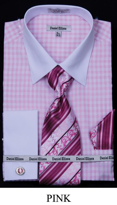 two tone stripe pink