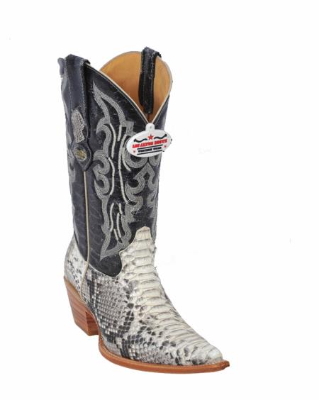 MensUSA.com Ladies Natural Python Cowgirl Boots(Exchange only policy) at Sears.com