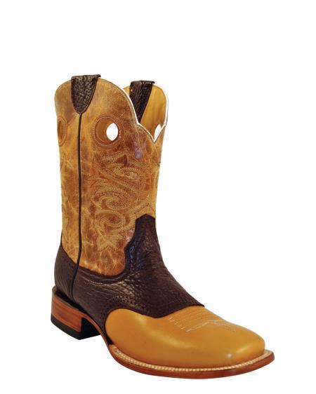 MensUSA Ferrini Mens Cowhide Saddle Vamp S Toe Boot Antique Saddle at Sears.com