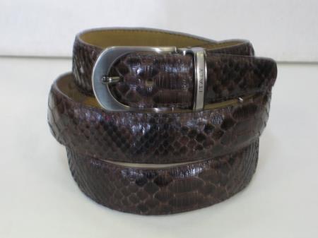 Genuine Authentic Brown Python