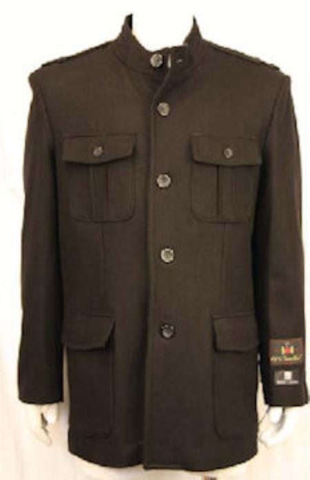 MensUSA Mens Sgt Pepper Jacket Black at Sears.com