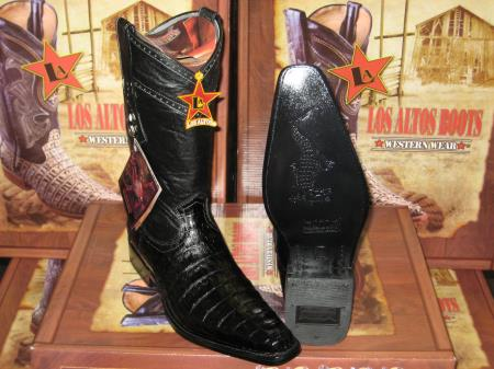Altos Square Black Genuine