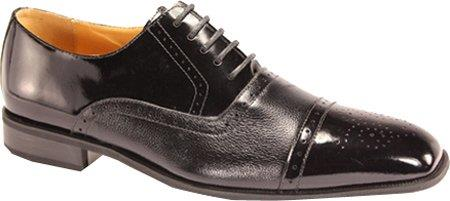 SKU#HN7390 Mens Cap Toe SR Dress Oxfords Black $99