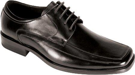 SKU#FN5638 Mens Moc Toe SR Dress Oxfords Black $65