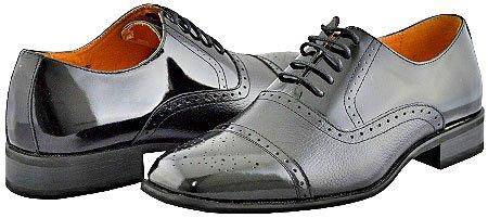 SKU#RF9386 Mens Black Dress Shoes $99