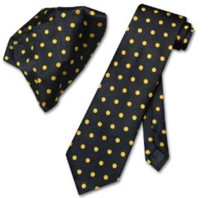 w/ Yellow Polka Dots