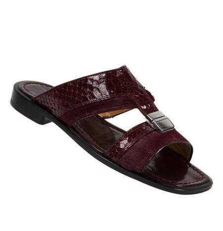 MensUSA Mauri Pony Python Genuine Python Sandals at Sears.com