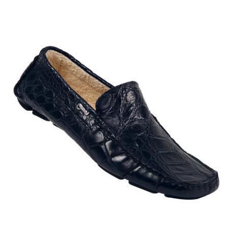 MensUSA Mauri Body Alligator Soft Wonder Blue Genuine All Over Alligator Shoes at Sears.com