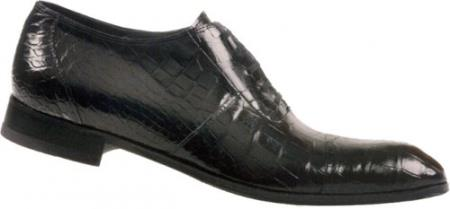 MensUSA Mauri Dainty Black Baby Alligator Shoes at Sears.com