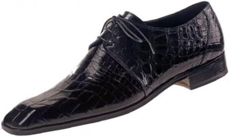 "SKU#CQ453 Mauri ""Opera"" Sport Rust Genuine All-Over Baby Alligator Shoes $1669"
