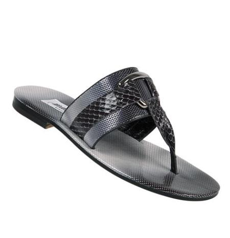 MensUSA Mauri Whips Medium Gray Multipatent Perforated Sandals at Sears.com